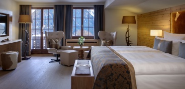 Steigenberger Alpenhotel and Spa, Gstaad-Saanen - Zimmer