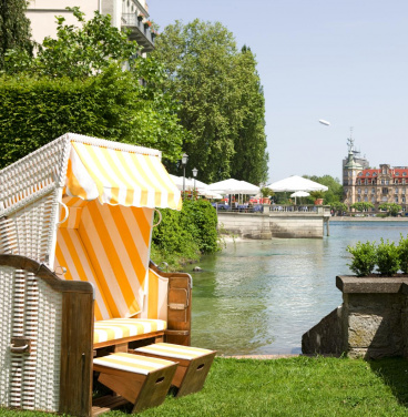 Seeterasse Steigenberger Inselhotel Konstanz - Girl Friends Package