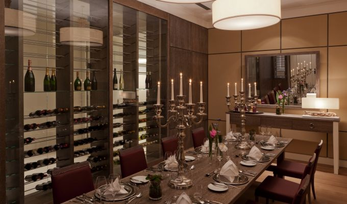 Steigenberger Grandhotel and Spa, Heringsdorf/Usedom – Wine Salon