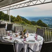 Steigenberger Grandhotel & Spa Petersberg, Koenigswinter/Bonn, Germany - Restaurant Bills, Terrace