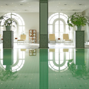 Indoor-Pool Steigenberger Grandhotel Petersberg - Pools