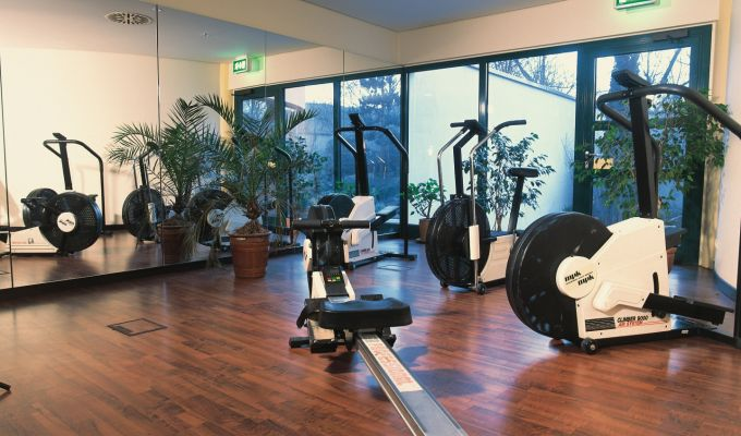 MASS Hotel Jena – fitness area
