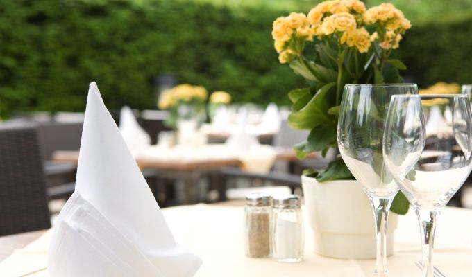 Steigenberger Hotel Dortmund – the summer terrace