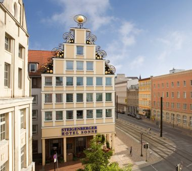 Steigenberger Hotel Sonne, Rostock – Outside view