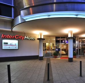 Hotel in Kiel - IntercityHotel Kiel, entrance