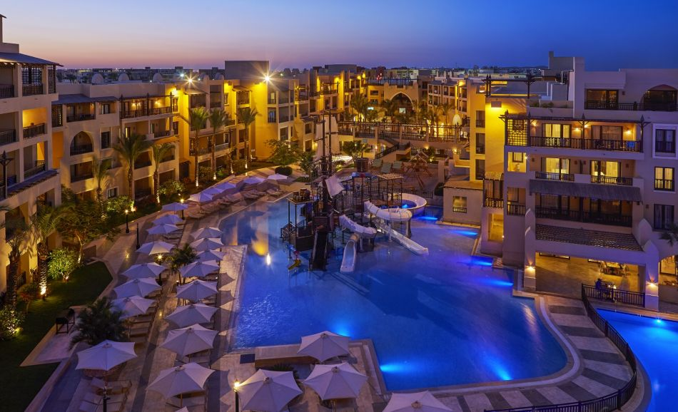 Hôtel à Hurghada - Steigenberger Aqua Magic, Hurghada - Pool view