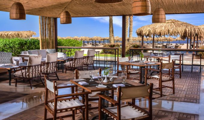 Steigenberger Alcazar, Sharm El Sheikh, Egypt - Sanafir Restaurant and Beach Bar