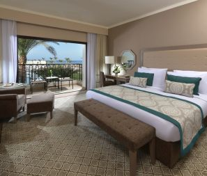 Steigenberger Alcazar, Sharm El Sheikh/Ägypten - Deluxe Family Room with partial sea view