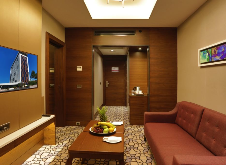 Steigenberger Airport Hotel, Istanbul - Suite living room