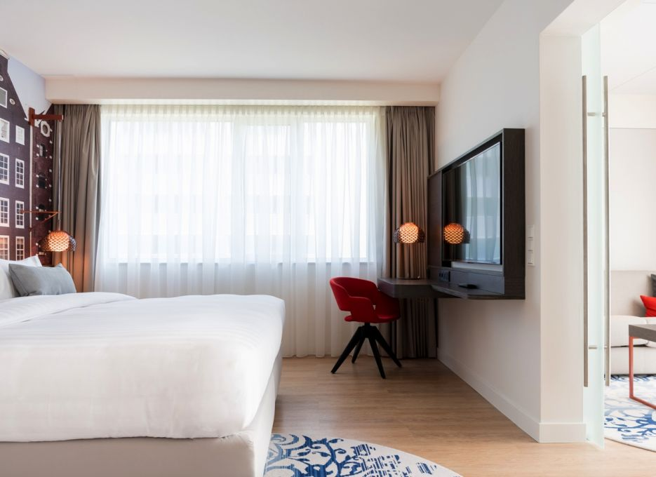 Steigenberger Airport Hotel, Ámsterdam - Suite Junior