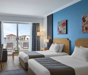 Steigenberger Hotel El Lessan, Ras El Bar, Egypt - Standard Twin Room with city view
