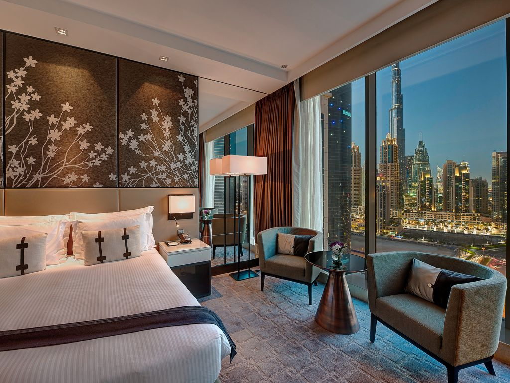 Luxury Hotel Dubai With Spa, WiFi, And View Of The Burj
