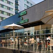 Steigenberger Airport Hotel, Amsterdam/Schiphol - Sports & Media Bar terrace